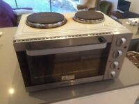 Mini counter top oven and hob