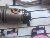 KTM 690 Wings Pipe