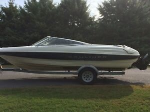 21' bayliner bowrider with 3.0L mercruiser
