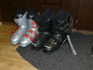 SKI BOOTS Nordica 25.0-25.5 / 290mm and Langue 25.5-26.0 / 298mm