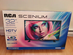 RCA SCENIUM HIGH DEFINITION TV 32 INCHES NEW IN BOX