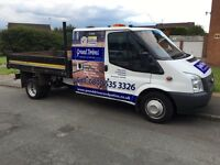 Ford transit 2014 100t350 crewcab tipper 6 speed