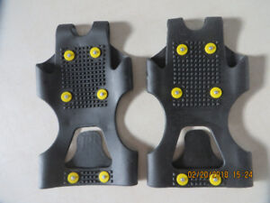 Ice grips for shoes - prevent falling,  LARGE
