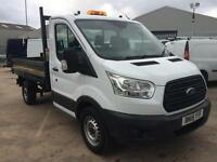 Ford Transit 350 2.2 tdci mwb 1 way tipper 2015 15 reg