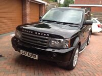 RANGE ROVER SPORT HSE LOW TAX BRACKET