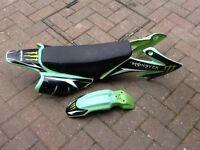 Pit bike plastics