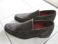 "NEW ""Loake"" Suede Shoes - Loafers - Chocolate Brown - Size 9M"