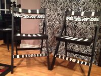 Unique Christmas Gifts!! *** Damask Wooden Folding Chairs