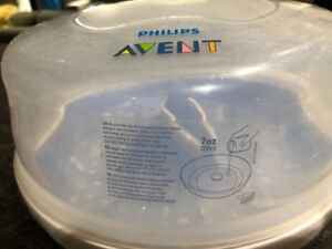 Avent bottle steamer sterilizer