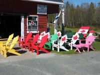 Lawn Furniture, (Chairs, Picnic Tables, Loungers)