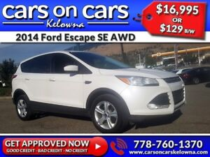2014 Ford Escape SE AWD w/EcoBoost, BackUp Cam, USB Connect $129