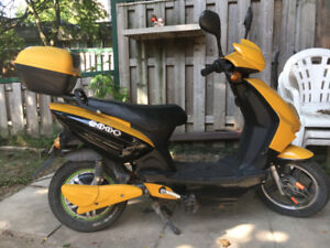 YELLOW EMMO EBIKE FOR SALE