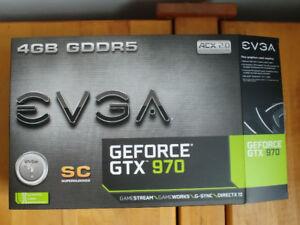 EVGA GTX 970 SC and 4x4GB G.Skill RipjawsX DDR3 1600MHz