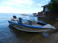 2011 18ft expedition fish and ski boat