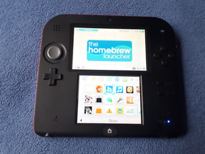 Soft modded Nintendo 2ds and 2 DSI XL's