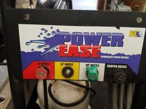 Power ease 4000 psi pressure washer with honda gx390 engine