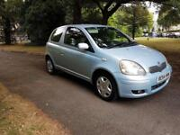 2004 (54) Toyota Yaris 1.0 VVT-i Blue Edtion 1 Former Keeper £995