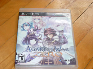 jeux RPG Record of Agarest war Zero sur Sony PS3
