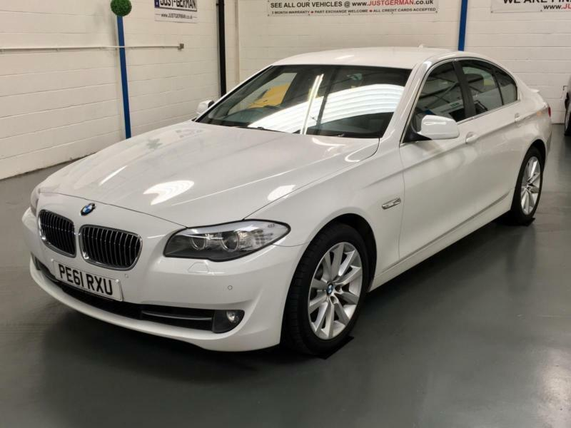 2011 61 bmw f10 5 series 520d se 2 0 diesel automatic saloon alpine white in wigan. Black Bedroom Furniture Sets. Home Design Ideas