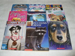 VARIOUS ANIMAL - CHAPTERBOOKS - CHECK IT OUT!