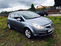 "2009 CORSA 1.3L CDTI ACTIVE ECOFLEX 5-DOOR ,£30 TAX MOTD TIL JAN 2017 ""TRADE IN WELCOME"" £2450"