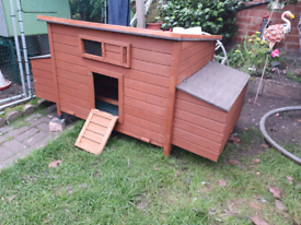 Large Chicken Coop and Large New Run