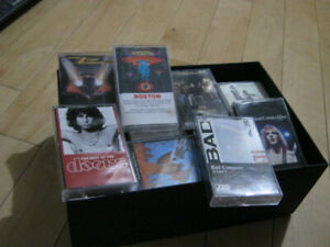 AUDIO CASSETTES ROCK VERY GOOD - TESTED AND LISTENED TO
