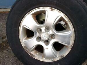 "16"" alloy rims- set of 4 Mazda"