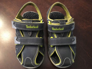 Timberland brand sandals size 7 - unisex