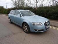 2007 Audi A6 Avant Estate 2.0T FSI ++ SPARES OR REPAIR ++ STARTS & DRIVES ++
