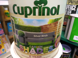 SILVER BIRCH- Cuprinol Garden Shades
