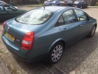 Nissan primera 2.2 sve diesel, 2002, manual, 5 doors, long mot,
