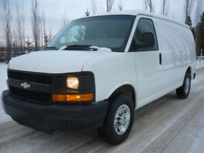 2014 Chevrolet Express 2500 Cargo Van SHELVING/PARTITION/LOW KMS