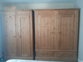 Canadian Pine Wardrobes and drawers