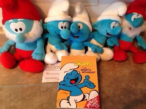 Smurfs collection plush