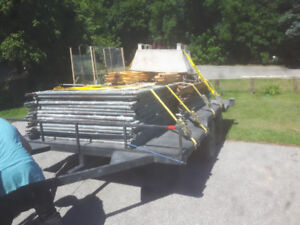 Scaffold and axcesseries for sale