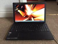 "Toshiba C850 15.6"" 250GB 3GB Windows 7 laptop"