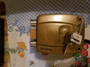 Door Gate lock  HEAVY Duty Double lock FORTE