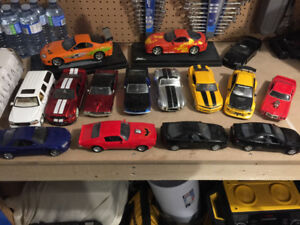 15 Diecast Models - Various makes and models