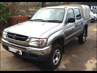 TOYOTA HILUX 270 EX DOUBLE CAB 4WD Silver Manual Diesel, 2004
