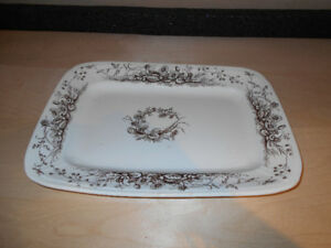 Serving Platter, T. Furnival and Sons