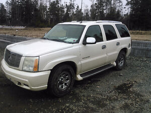 2004 Cadillac Escalade Chrome SUV, Crossover