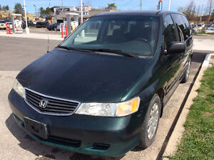 Lease to own in one year for $200+hst p/month 2000 Honda Odyssey