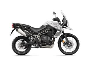 2019 Triumph Tiger 800 XCA Crystal White