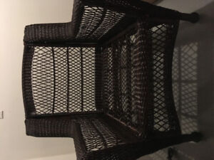 Outdoor Wicker Chair NEW never used