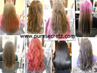HAIR EXTENSIONS - THE BEST HAIR THE BEST INSTALLATION
