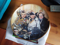 FRANKLIN MINT THREE STOOGES COLLECTOR PLATE LIMITED EDITION FINE