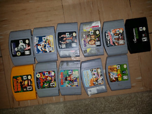N64 and nes games