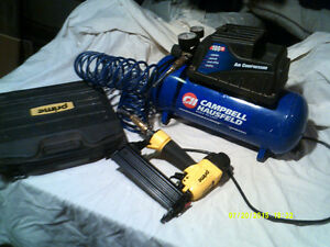 Air Compressor with 3 gal Tank