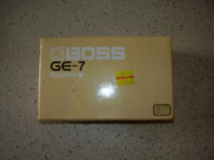 BOSS 7 Band EQ..**NEW**